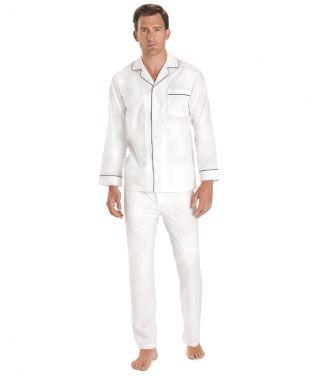 Brooks Brothers Men's Wrinkle Resistant Broadcloth Pajamas