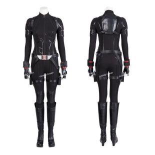 Avengers Endgame Black Widow cosplay costume