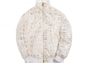 Kith x Versace Monogram Track Jacket White