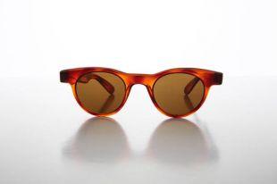 Petite ronde en corne jante Preppy Neuve d'époque Vintage lunettes de soleil   Sydney