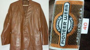 Veste en cuir des années 1970 / 36 38 / S   M / Pioneer usure vintage veste en cuir / Western / Cowboy / Hippie / Rocker / 1970 s Mens mode