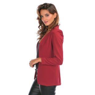 Josefine Veste tailleur rouge