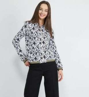 One Step Bomber Madany droit lurex