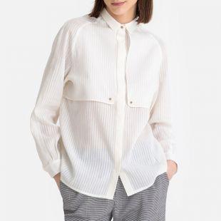 Sessun Chemise manches longues à bavolets