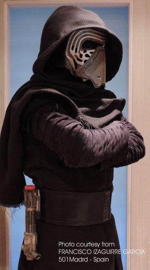Kylo Ren costume noir ensemble 5 morceau