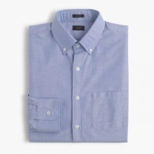 Ludlow cotton oxford shirt