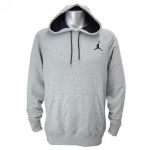 Sweatshirt Nike gray with pocket on sleeve of Adonis Creed