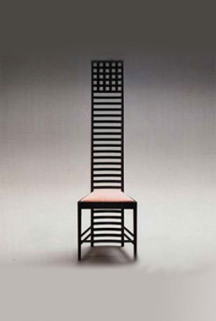 Hill House Chair / Mackintosh's high