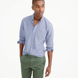 Lightweight oxford shirt in solid