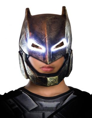 Batman v superman masque, kids batman armored light up masque