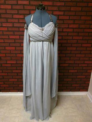 Khaleesi wedding dress full costume, GOT cosplay, Daenerys Targaryen Halloween costume, select options, custom made