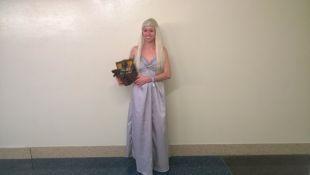 Khaleesi Daenerys Targaryen Wedding Dress