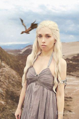 Daenerys Targaryen Wedding Dress - Cosplay Costume - Game of Thrones