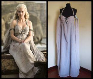 Daenerys wedding dress costume