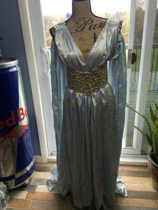 Dragon Mother Dress- Game of Thrones, Qarth, Halloween, Cosplay, Comic Con, LARP, Khaleesi