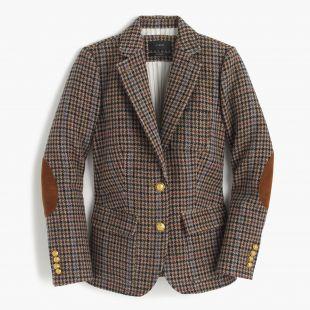 J.Crew - Rhodes blazer in houndstooth wool