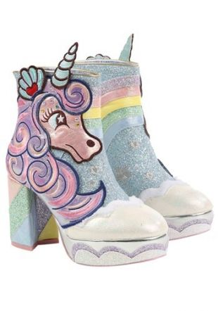Irregular Choice 'Daisy Dreams' Unicorn Boots