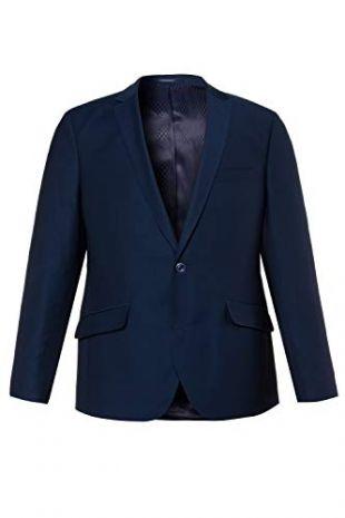 JP 1880 Homme Grandes Tailles Veste de Costume Coupe cintrée, Apollo Bleu Acier 66 715368 79-66