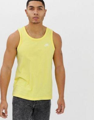 Nike  Débardeur  Jaune