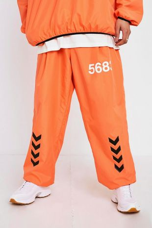 Hummel X Willy Chavarria Pantalon de survêtement orange
