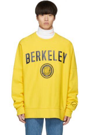 Yellow Berkeley Edition University Sweatshirt