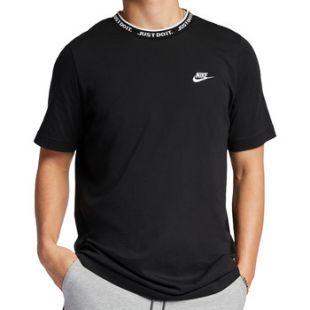 Le t shirt noir Nike de Maes sur le compte Instagram de