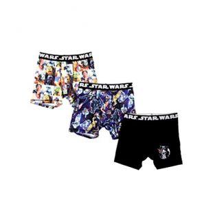 Fashion Star Wars Action Underwear 3 Pack Boxer Briefs - Large