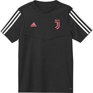 adidas 19/20 Juventus Tee Youth T-Shirt Unisexe pour Enfant M Noir/Gris foncé