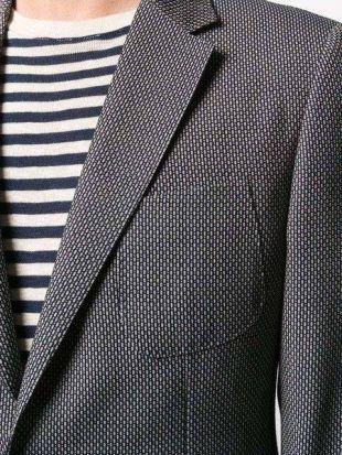 Z Zegna micro pattern Blazer