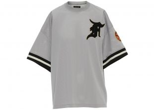 Mesh Away Baseball Shortsleeve Jersey Grey