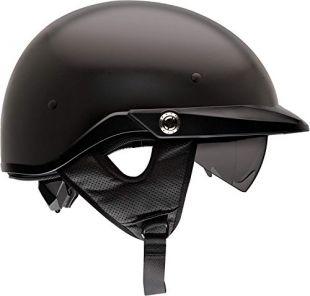 Bell Pit Boss Open-Face Motorcycle Helmet (Solid Matte Black, Large)