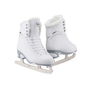 Jackson JS 181 SoftSkate Girls Figure Ice Skates (Fleece, 12)