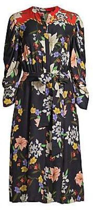 Leila Floral Shirtdress