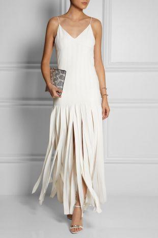 Kate Moss for Topshop Fringe Maxi Dress