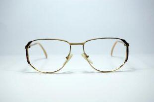 Lunettes vintage. Oversize femme lunettes de soleil. CARLA CIRELLA. Style de chute neuf semi classique. Fabriqué en Italie. Lunettes RX des années 90. Or, rouge foncé