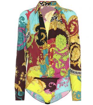Montage Print Bodysuit