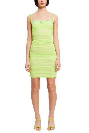 Aura Dress in Lime