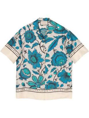Chemise Bowling à Fleurs