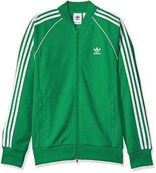 adidas Originals Homme cw1256 Manches Longues Veste de survêtement ou pour Se réchauffer - Vert - Taille L