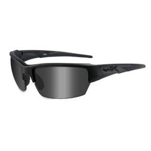 Wiley X Saint Sunglasses, Matte Black Frames with Smoke Grey Lenses