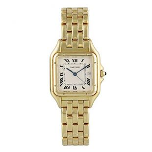 Cartier Panthere Ruban Quartz Male Watch 1060 (Certified Pre-Owned)