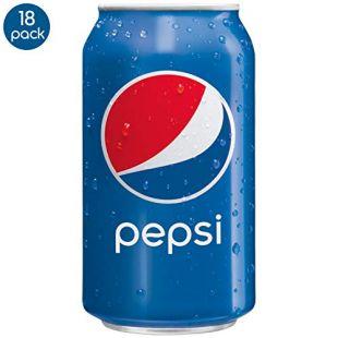 Pepsi, 12 fl oz. cans (18 Pack)