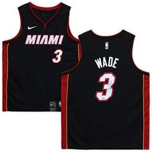Dwyane Wade Miami Heat Autographed Black Nike Swingman Jersey - Fanatics Authentic Certified - Autographed NBA Jerseys