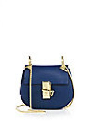 Chloé - Drew Mini Leather Saddle Crossbody Bag