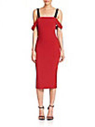 Cinq à Sept - Nova Cold-Shoulder Dress