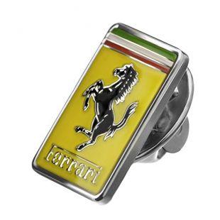 Authentic Ferrari Rectangular GT Lapel Pin 270000288
