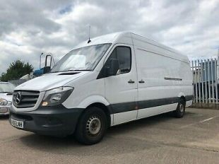 Mercedes Sprinter LWB 313 cdi Van Great Condition One Owner Low Miles 4 Keys  | eBay
