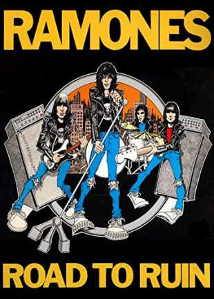 AFFICHE - Ramones - Road To Ruin - 59x84 cm - AFFICHE / POSTER