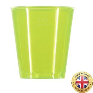Neon Shot glasses - pack of 72 - multi coloured