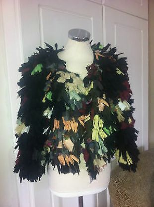 Isabel Marant Ribbon Tassel Shrug Coat Jacket